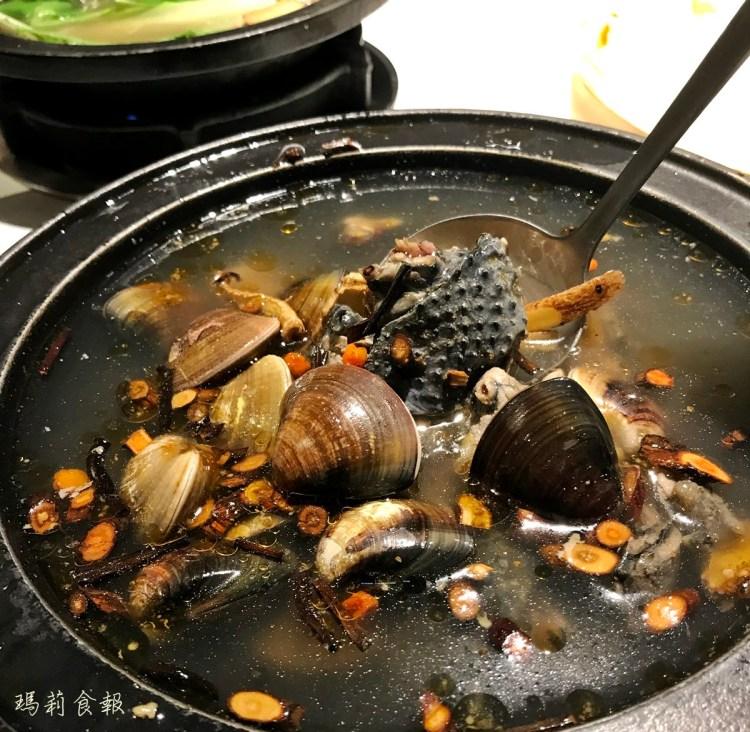 台中北區|萬客什鍋崇德店 食尚玩家推薦的鍋物老店 燒酒蛤蠣烏骨雞鍋 好吃必點