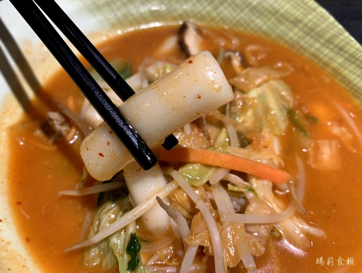 台中北區|南朝鮮韓式料理 有嚼勁的辣炒年糕 烏龍麵 中友美食推薦