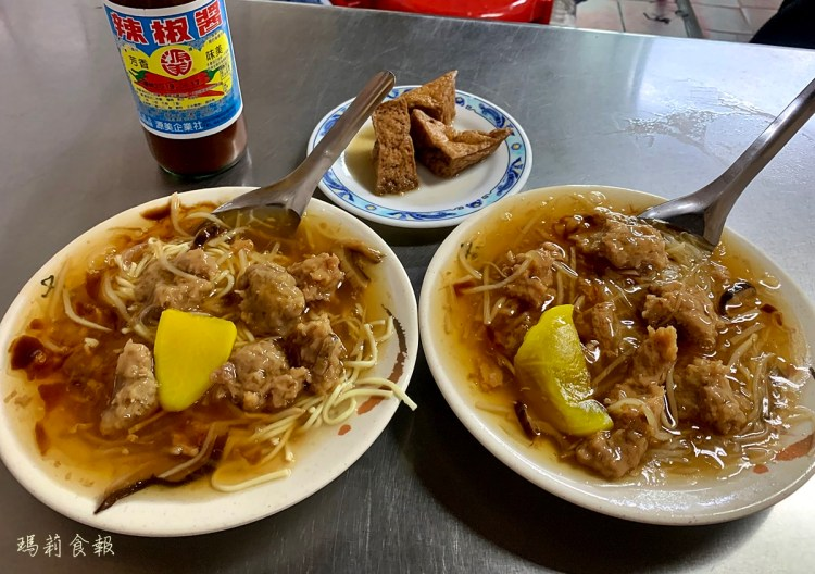 台中東區 傳台中正老牌香菇肉羹 後火車站與舊第一市場的老味道