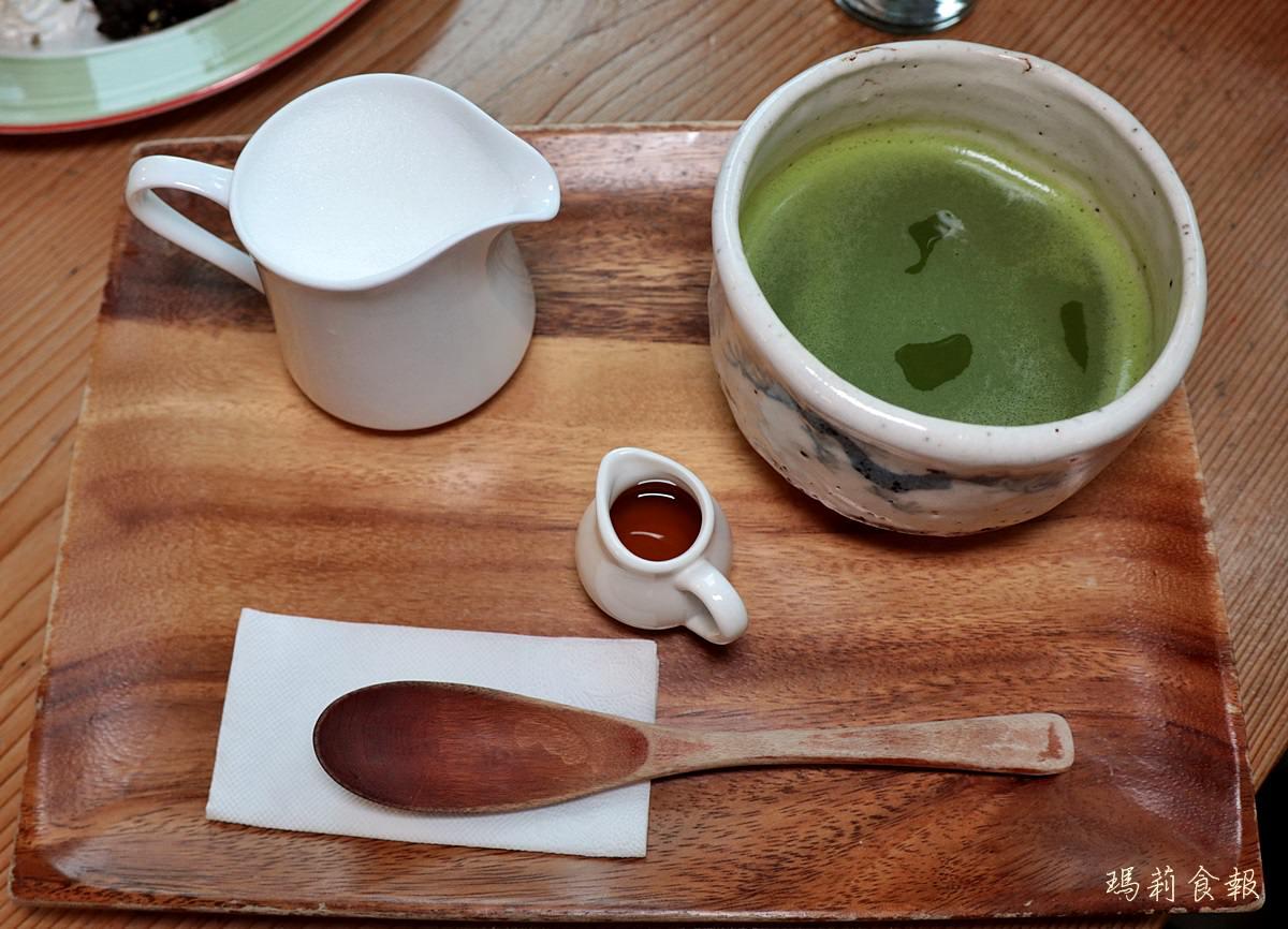 台中北區美食,初綠和風定食抹茶專賣,下午茶抹茶,台中下午茶森半抹茶