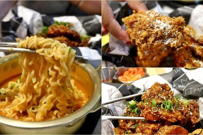 台中西區 KATZ 卡司複合式餐廳 韓式炸雞 創意韓式料理 蒜香奶油炸雞必點 精誠商圈美食