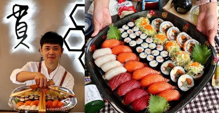 一貫手作壽司|壽司便當外帶餐盒 精緻華麗 台中CP值超高的壽司外帶便當推薦 中科美食 台中西屯