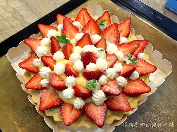 台中手作烘焙|Home焙實驗所--草莓季來做「愛戀草莓派」