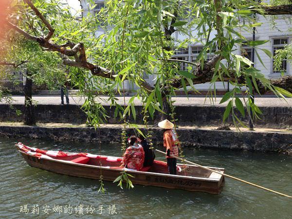 岡山倉敷美觀 散步在江戶時代的倉敷川邊