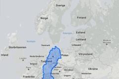 Truesize of Sweden