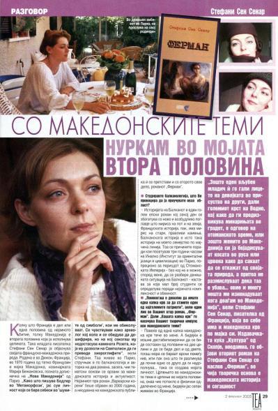 Itw Stefani vo Tea moderna