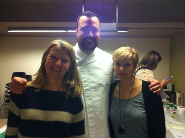Con el Chef Gerard Ninot