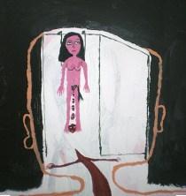 Acrylic on canvas. 40x40 cms. 2010