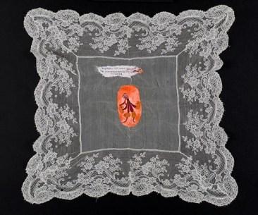 Acrylic on fabric. 32,5x36cms 2012