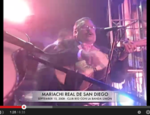 Mariachi Real De San Diego Live @ Club Rio (2008)