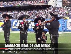 Chargers Game – Halftime Performance (2015)