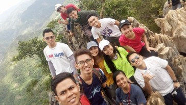 First pic. at the Peak