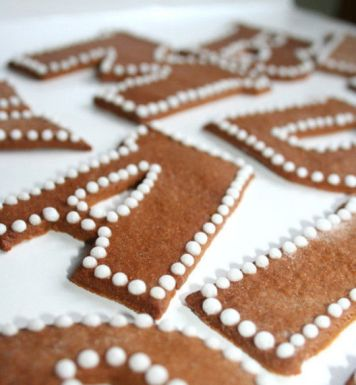 Gingerbread Typography