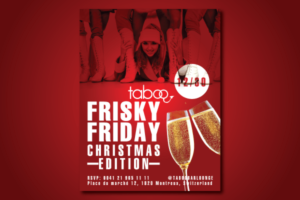 Taboo-Frisky-Friday-Christmas-Flyer