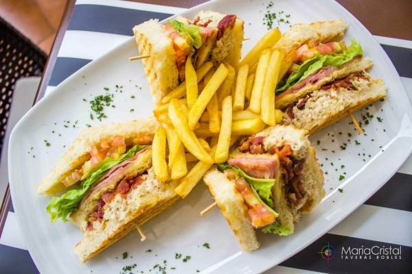 Club Sandwich KGB kitchen Gallery Bistro by MariaCristal