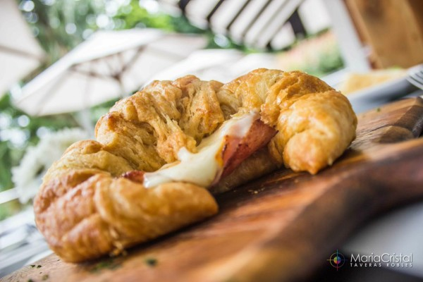 Croissant KGB kitchen Gallery Bistro by MariaCristal