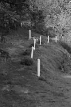 Une pierre, mémorial, Mauléon, les Deux-Sèvres, dimanche 20 octobre 2013