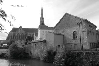 Communauté de la Sagesse, Saint-Laurent-sur Sèvre, la Vendée, France. Dimanche 20 octobre 2013 à 14H40
