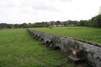 Mur, communauté de la Sagesse, Saint-Laurent-sur-Sèvre, la Vendée, dimanche 20 octobre 2013
