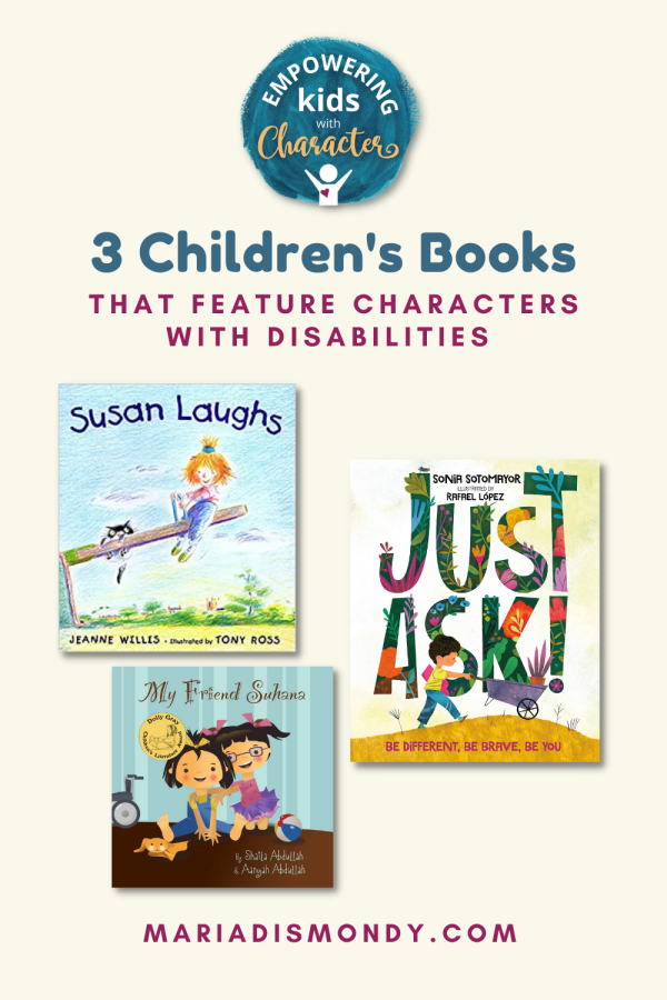3 Children's Books that Feature Characters with Disabilities. There are still strides to be made in terms of making sure every young reader gets the chance to see themselves and their situations reflected in the books they read. #ChildrensBooks #PictureBooks #CharactersWithDisabilities