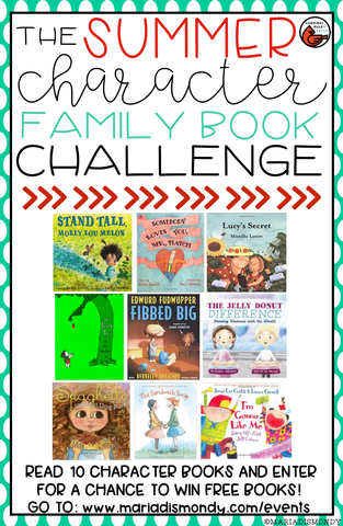 Summer Reading Challenge-WIN BOOKS