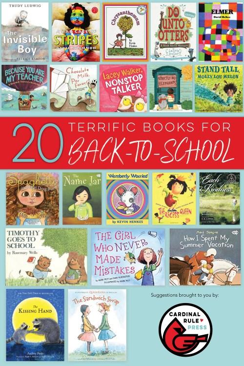 20 Terrific Books For Back-To-School - mariadismondy.com