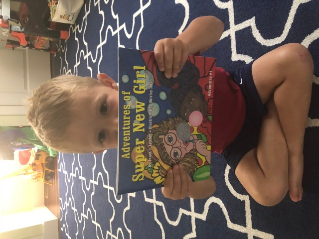 Book Review-Adventures of New Super Girl