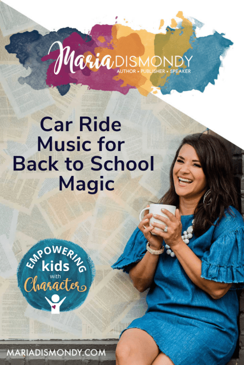 """Car Ride Music for Back to School Magic-Make a playlist full of empowering music and declare it your """"Going to School Music."""" Maria shared her empowering playlist, highly recommended for you! - mariadismondy.com"""