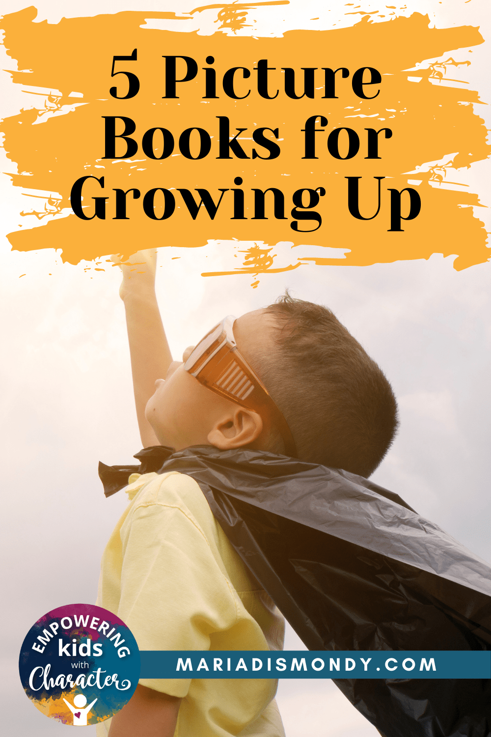 Five Picture Books for Growing Up