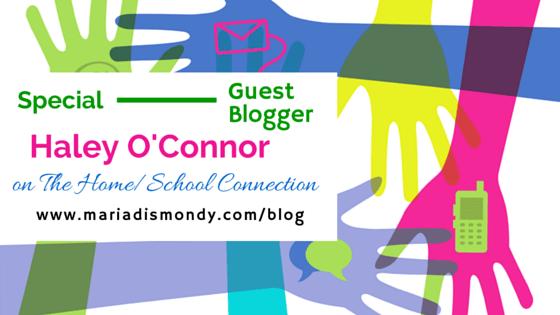 Guest Blogger-Haley O'Connor - mariadismondy.com