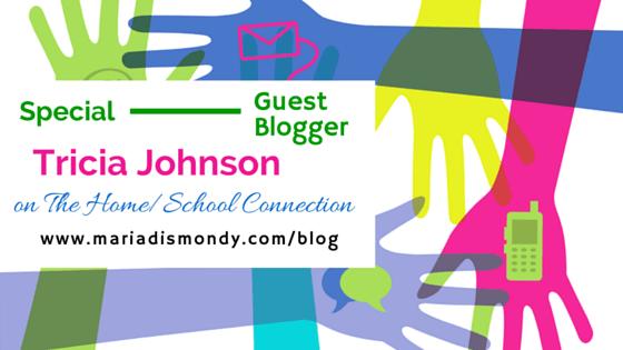 Guest Blogger-Tricia Johnson - mariadismondy.com