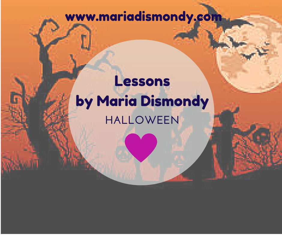Lesson for Mondays - HALLOWEEN