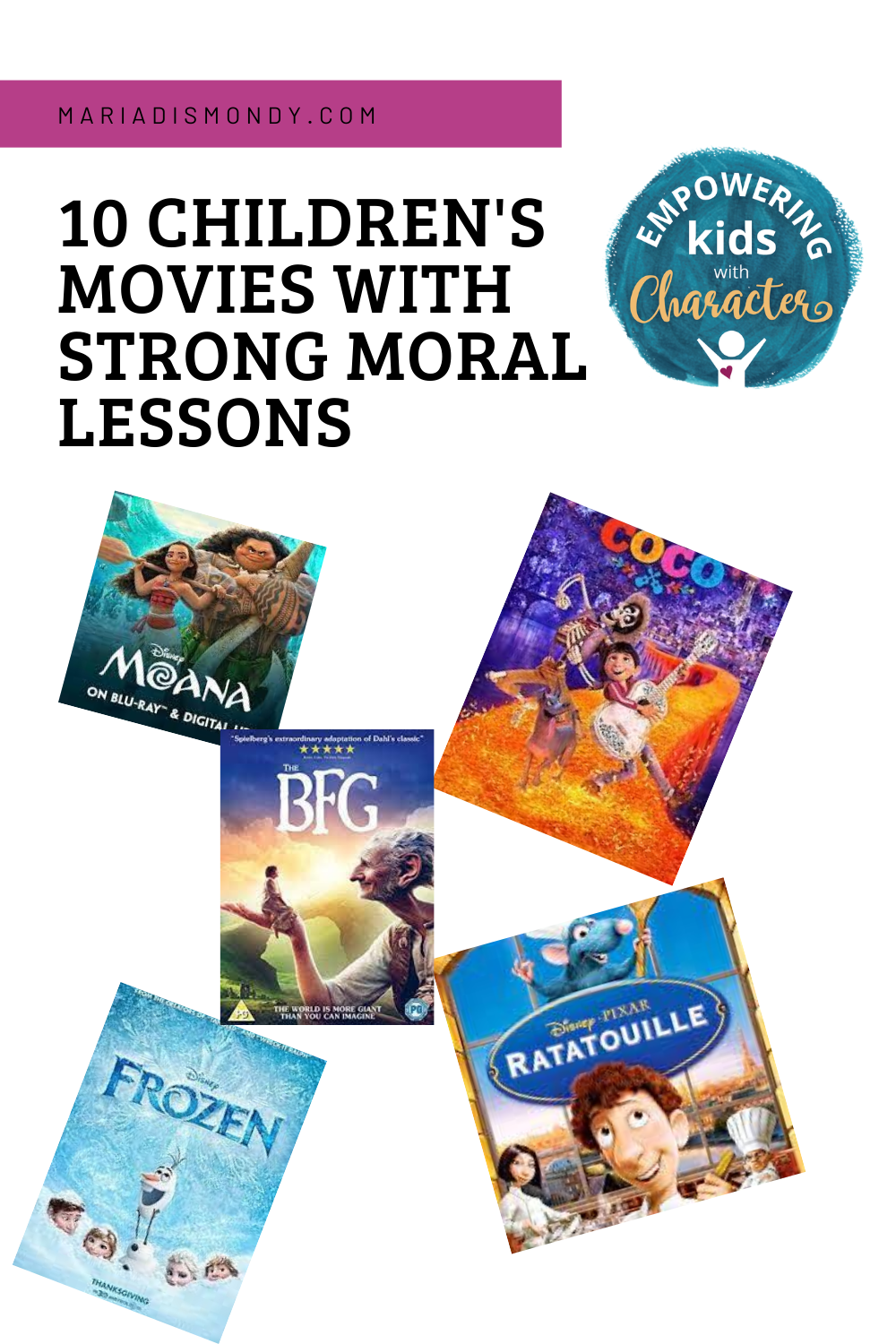 Children's Movies With Strong Moral Lessons
