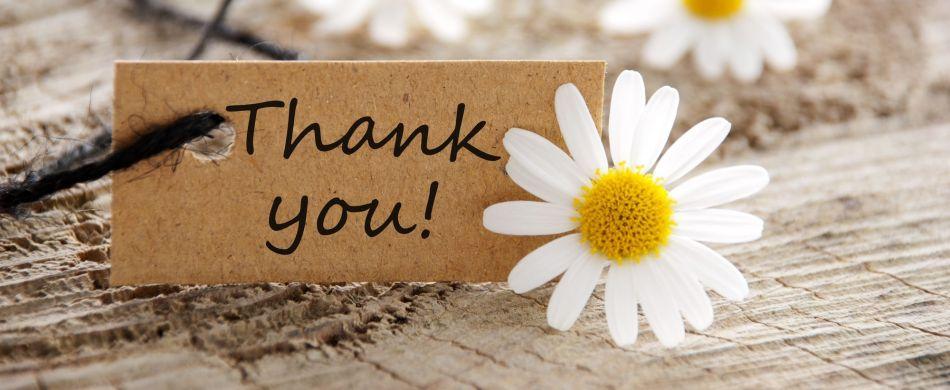 Îndrăzneşte să-ţi exprimi recunoştinţa