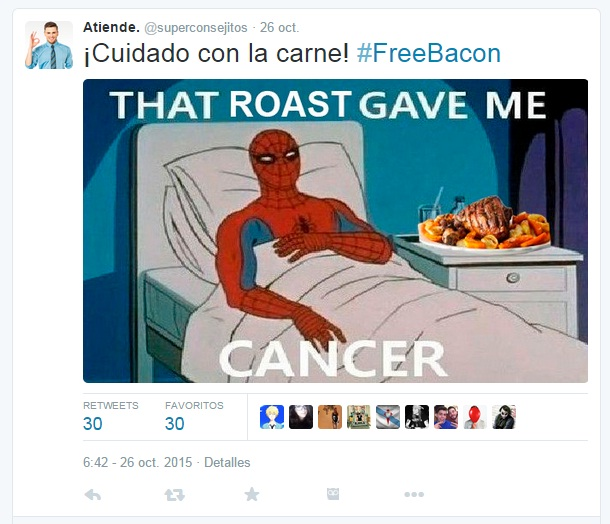 #FreeBacon | Maria en la red