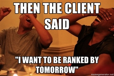 Chistes SEO: instant-seo-results-meme1