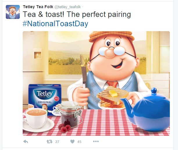 toast tetley
