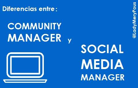 #CommunityManager vs #SocialMediaManager