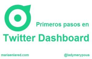 Twitter Dashboard: primeros pasos