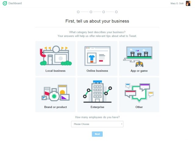 twitter dashboard tell about your business