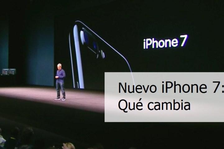 iPhone 7: Qué cambia