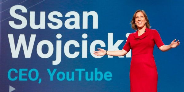 Susan Wojcicki, la CEO de YouTube