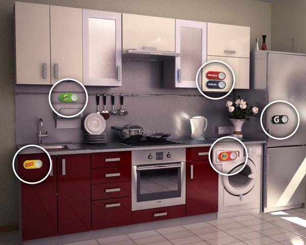 amazon dash button cocina