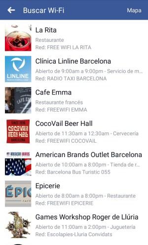Encontrar wifi gratis con la app de Facebook   Maria en la red