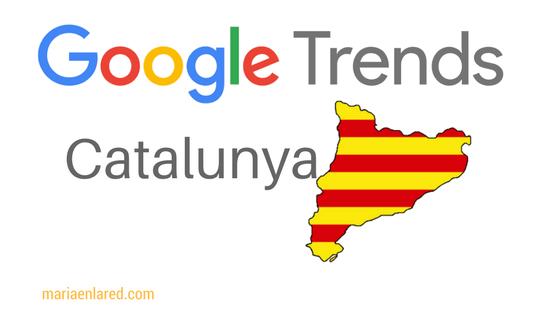 Google trends: Catalunya