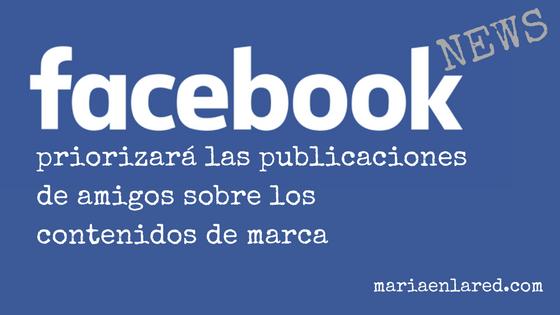 Facebook publicaciones de amigos