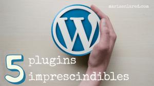 Los 5 plugins imprescindibles en mi blog