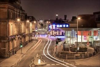 Warrington's bus station