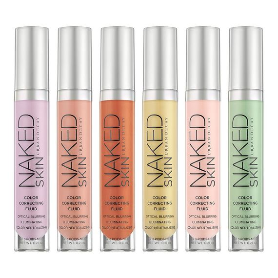 Naked skin color correcting fluid urban decay maria frangieh blogger lebanon