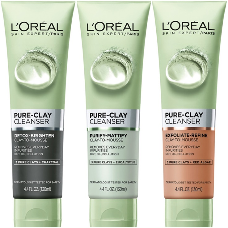 LOreal-Pure-Clay-cleanser-beauty-maria-frangieh-blog-multimasking